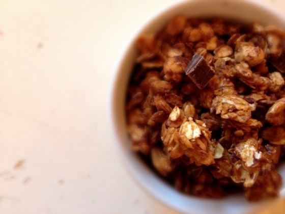 Oats baked to a sweet, nutty crunch